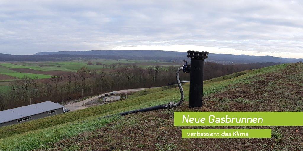 Neue Gasbrunnen